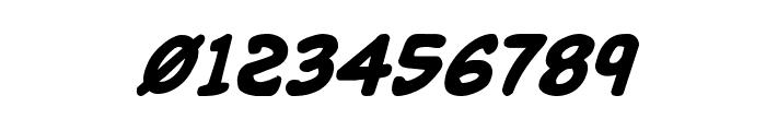 Buddy Champion Bold Italic Font OTHER CHARS