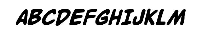 Buddy Champion Bold Italic Font UPPERCASE