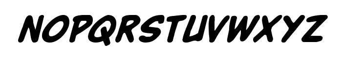 Buddy Champion Bold Italic Font LOWERCASE