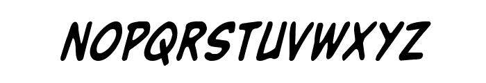 Buddy Champion Condensed Italic Font LOWERCASE