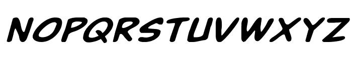 Buddy Champion Expanded Italic Font UPPERCASE