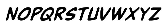 Buddy Champion Italic Font UPPERCASE