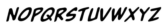 Buddy Champion Rotalic Font UPPERCASE
