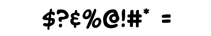 Buddy Champion Font OTHER CHARS