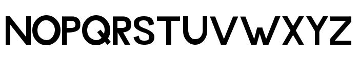 Budget 2012 Font UPPERCASE