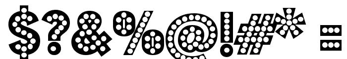 Budmo Jiggler Font OTHER CHARS