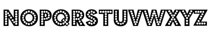 Budmo Jiggler Font UPPERCASE