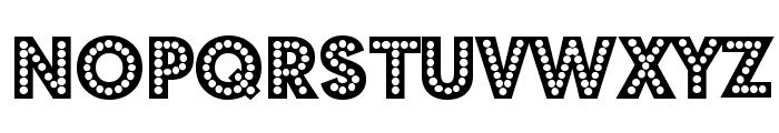 Budmo Jiggler Font LOWERCASE