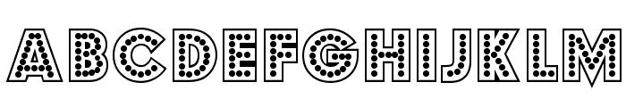 Budmo Jigglish Font UPPERCASE