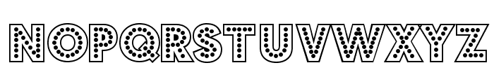 Budmo Jigglish Font LOWERCASE
