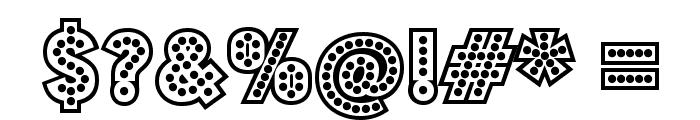 BudmoJigglish-Regular Font OTHER CHARS