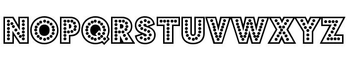 BudmoJigglish-Regular Font UPPERCASE