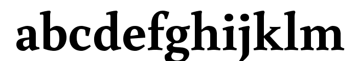 Buenard Bold Font LOWERCASE