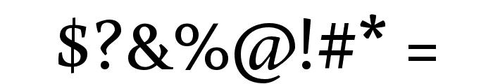 Buenard Regular Font OTHER CHARS