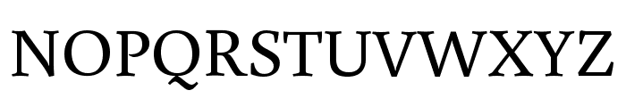 Buenard Regular Font UPPERCASE