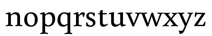 Buenard Regular Font LOWERCASE
