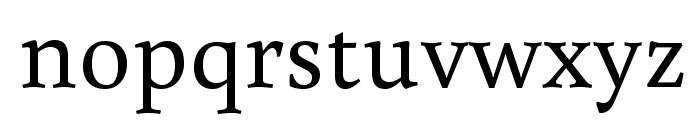 Buenard Font LOWERCASE