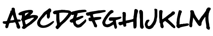 BuffaloStance Font UPPERCASE