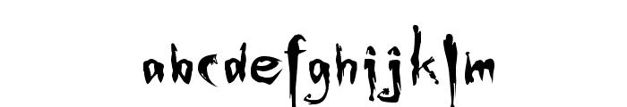Buffied Font LOWERCASE