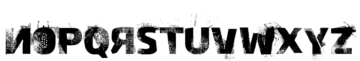 Bugeater Font LOWERCASE