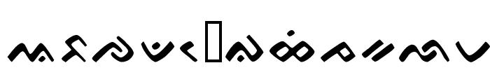 Bugis Modified Font LOWERCASE