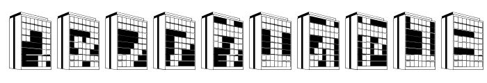 Building2KT Font OTHER CHARS