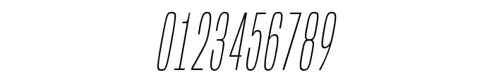 BuiltTitlingEl-Italic Font OTHER CHARS