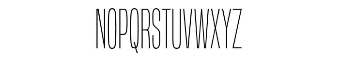BuiltTitlingEl-Regular Font UPPERCASE