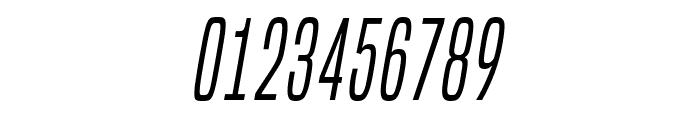 BuiltTitlingLt-Italic Font OTHER CHARS