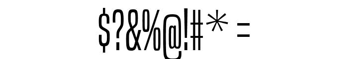 BuiltTitlingLt-Regular Font OTHER CHARS