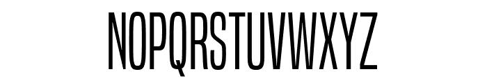 BuiltTitlingLt-Regular Font UPPERCASE