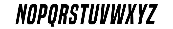 BuiltTitlingSb-Italic Font UPPERCASE