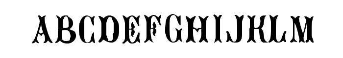 Bujardet Freres Font LOWERCASE