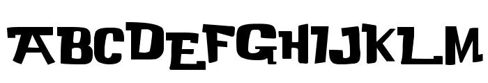 Buka Bird Font UPPERCASE