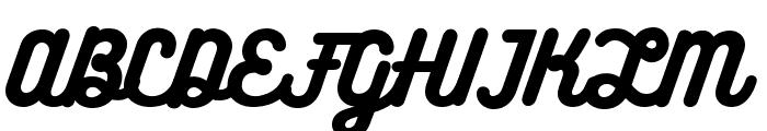 Bukhari Script Font UPPERCASE