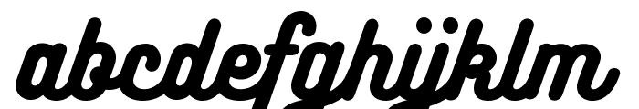 Bukhari Script Font LOWERCASE