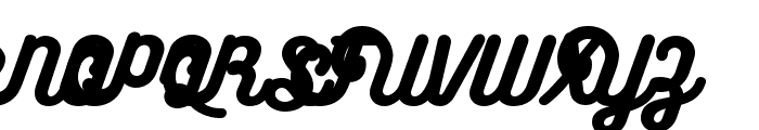 BukhariScript Alternates Font UPPERCASE