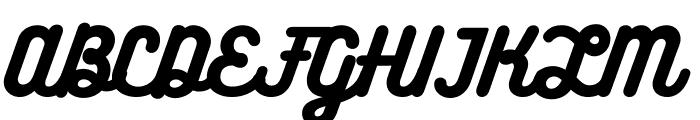 BukhariScript-Regular Font UPPERCASE