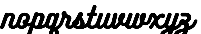 BukhariScript-Regular Font LOWERCASE