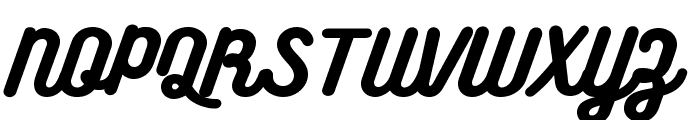 BukhariScript Font UPPERCASE