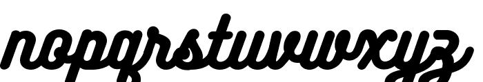 BukhariScript Font LOWERCASE