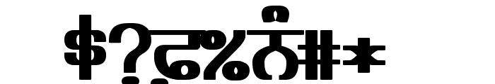 Bulara Heavy Font OTHER CHARS