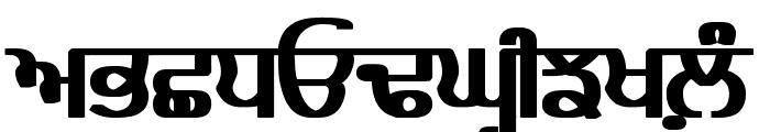 Bulara Heavy Font UPPERCASE