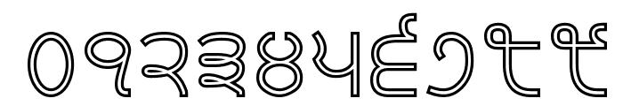 Bulara Hollow Font OTHER CHARS