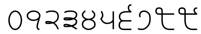 Bulara Thin Border Body Font OTHER CHARS