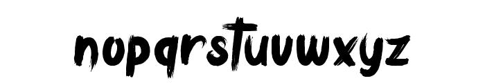 Bulldozer Font LOWERCASE