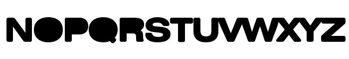 Bulldozer Font UPPERCASE