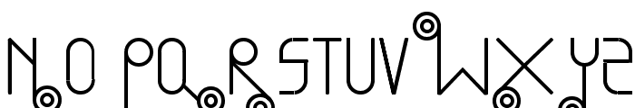 Bullet Train Font UPPERCASE