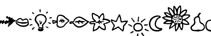BulletMix2 Font UPPERCASE