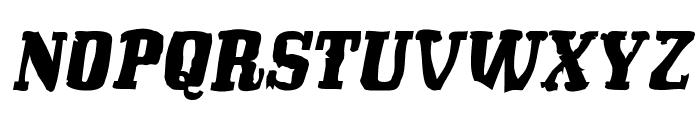Bullfrog Font UPPERCASE